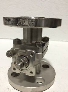 3 4 150 Flowtek Stainless Steel Ball Valve missing Handle