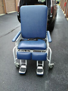 Patient Powered Hospital Bed Transfer Transport Geri Chair Recliner