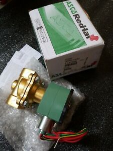 Asco Redhat 8210g035e Normally Open Solenoid Valve 3 4 120 110 new In Box