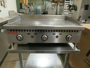 Vulcan Vcrg36 t 36 Snap Action Thermostatic Griddle Natural Gas
