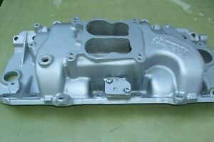 Edelbrock Performer With Egr Intake Manifold Bb Chevy Oval Ports 396 427 454