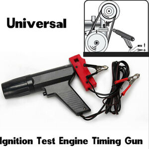 Professional Car Inductive Timing Light Tester Engine Ignition Xenon Lamp Zc 100