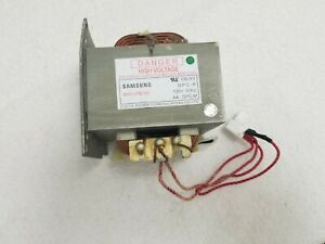 Samsung Microwave High voltage Transformer De26 00126a