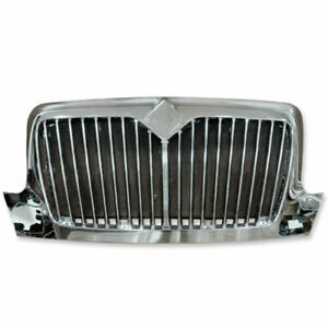 Us Stock Chrome Grille For International Durastar 2002 2018 Mesh W Bug Screen