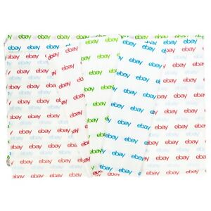 Red Green And Blue Ebay branded Tissue Paper Multi pack 20 X 30