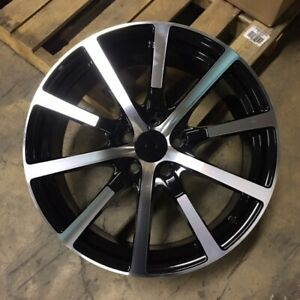 19 Accord Hfp Sport Style Wheels Rims Black Fits Honda Accord Ex Lx Lx s V6