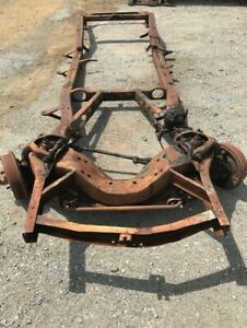 Ford 1952 Frame Station Wagon Chassis Hot Rod Nostalgia Used Original Salflats