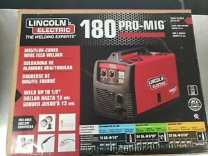 Lincoln Electric K2481 1 Pro mig 180 Wire Feed Welder new Open Box