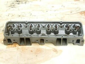 1 F 14 3 1963 3782461x Gm Camel Hump Cylinder Head Small Block Chevy 1 94 1 50