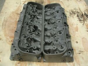 Corvette Chevelle 1966 396 427 Big Block Chevy Cylinder Heads 3872702 D 4