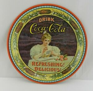 Coca Cola Collectable 75th Anniversary Vintage Tray Numbered Limited Edition OH