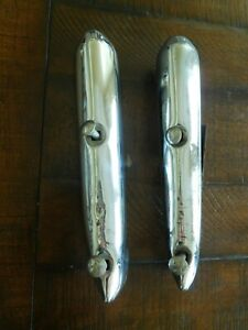Ford Bumper Guards Two 1937 1938 1939 1940 Accessory Chevrolet Dodge Plymouth