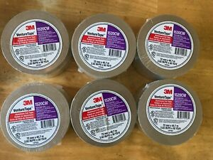 Lot Of 6 3m Venture Tape 1520cw Aluminum Foil Tape silver Tape 2 83 X 50 Yards