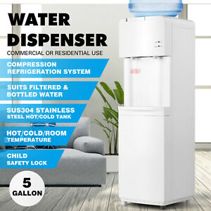 5 Gallon Desktop Electric Hot cold Water Cooler Dispenser Child Lock Home office