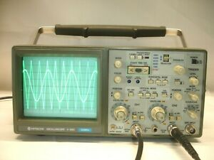 Hitachi V 660 2 channel 60 Mhz Oscilloscope 4494