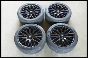 2015 2018 Ford Mustang Track Performance Pack 19 Front Rear Rims Wheels Tires