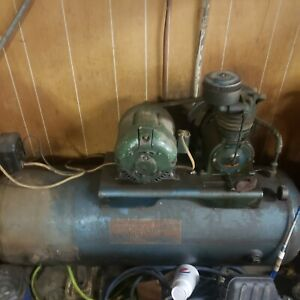 Kellogg American 200 Gallon Industrial Air Compressor Read Desc I Will Ship