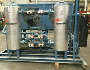 Ingersoll Rand Desicate Compressed Air Dryer With After Cooler