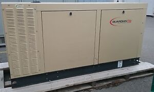 Generac 70 Kw Standby 63 Kw Prime Natural Gas Generator Set Model Sg070