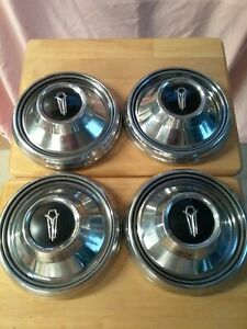 Vintage Mopar Dodge Chrysler Plymouth Charger Hubcaps Wheel Covers Center Caps