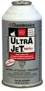 Chemtronics Es1020r Ultrajet Canned Air 10 Ounce Refill Can