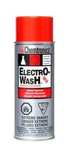 Chemtronics Electro wash Mx 10oz Cleaner Degreaser