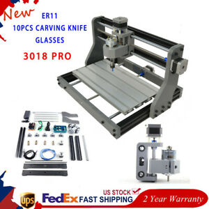 Mini Laser 3axis Cnc Router Diy Mill Wood Pcb Engraving Carve Machine Grbl Usb