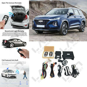 keyless Entry Engine Start Alarm System Push Button Remote Starter For Hyundai