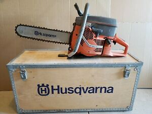 Husqvarna Partner K950 Concrete Chainsaw With Case And Extra Chains