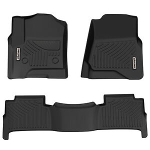Oedro Floor Mats Liners Fit For Chevrolet Tahoe 2015 2019 Full Set All Weather