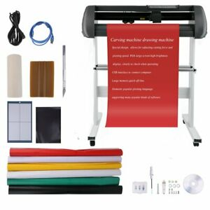 34 Usb Vinyl Cutter Sign Decal Cutter Sticker Making Kit Cutting Plotter
