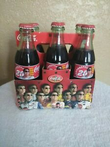 2001 COCA COLATONY STEWART #20 8OZCOLLECTABLE  6 PACK BOTTLES LIMITED EDITION
