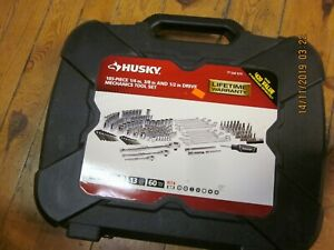 Husky Mechanics Tool Set 185 piece H185mtsn