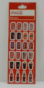 New Pack of Coca Cola Stickers Can Bottles Diet Coke Fanta