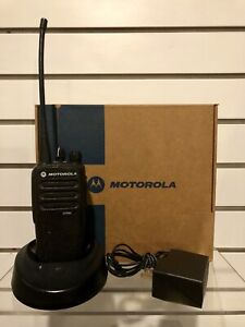 Motorola Cp200d Uhf Analog Version Two Way Radio Tested Includes Accessories