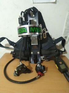 Msa Frame Harness 4500psi Scba Air Pack Bottle Cylinder Tank Scott Fi