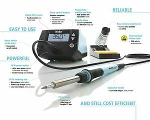 Digital Soldering Station Pencil Unit With Stand And Sponge Electronic 5 Pieces