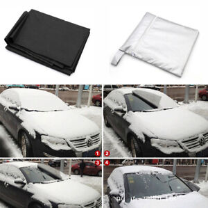 Magnetic Windscreen Cover Car Frost Ice Shield Snow Dust Protector Window Magnet