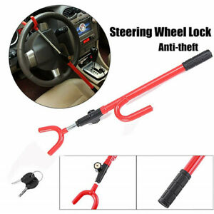 Universal Steering Wheel Lock Anti Theft Security Single Hook Fit For Car Truck