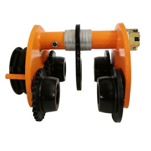 New Manual Trolley Push Beam Track Roller Monorail I beam Track 2ton 4400lbs