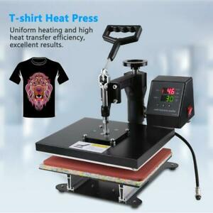 High Pressure Flat Plate Thermal Transfer T shirt Small Hot Stamping Machine Us