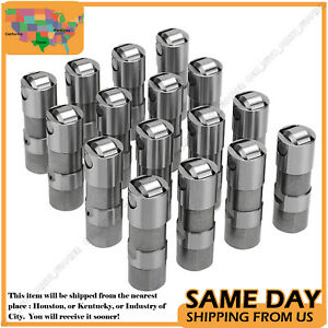 For 1987 2002 Chevy 5 7 350 Vortec Lt1 Hydraulic Roller Valve Lifters Set 16 Us