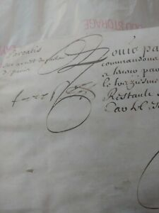 Royal Letter On The Arrest Of Parliament During The Fronde 1646 Signature
