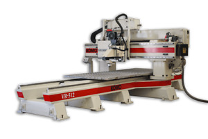 Komo Vr512 5 X 12 Cnc Router W 16hp Spindle 8 Tool Atc