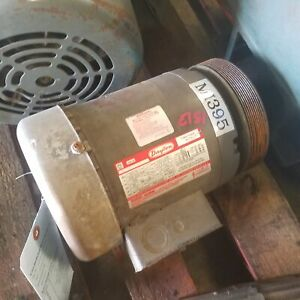 Dayton 3n317d 1hp 3 Phase Electric Motor