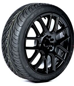 2 New Federal Ss595 Performance Tires 255 35r18 90w