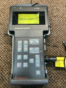 Hhs5 Velleman Handheld Oscilloscope With Scope Protector And Carrying Case