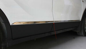 304 S steel Body Door Side Molding Chrome Opel Vauxhall Mokka Encore 2013 2018