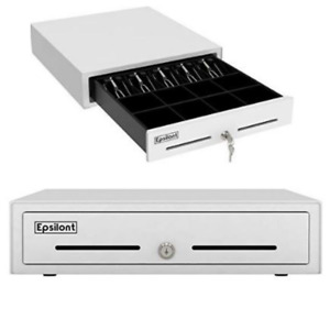 Cash Drawer Tray Compatible Square Register Pos Printer White Powder Coated Best