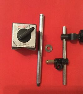 Spi Magnetic Base 2 X 2 X 2 1 2 With Attachable Rods And Clamps 98 282 7